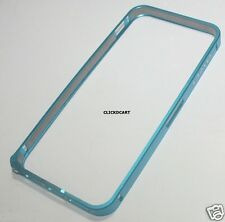 Anodized Aluminum Metal Bumper Frame Case For iPhone 5 5S With front Back Screen