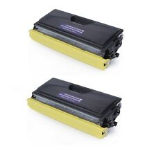 2-PACK TN460 Black Toner Cartridge High Yield Compatible For Brother HL1440