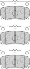 Rear Brake Pad Set Fits Lexus OE 446622190 Ferodo FDB4001