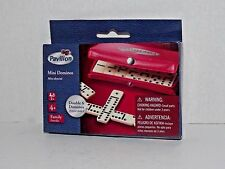 Pavilion Mini Dominos Domino Double 6 with Carry Case #504 New (24)
