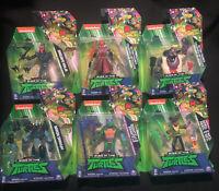 Lot Playmates Tmnt Rise of The Teenage Mutant Ninja Turtles Action Figures 4.5