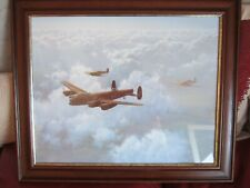"""Double Framed """"Band of Brothers"""" WW2 Aviation Print - Gerald Coulson G.AV.A"""
