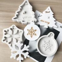 Christmas Silicone Cake Mould Chocolate Fondant Mold Handcraft Baking Decoration