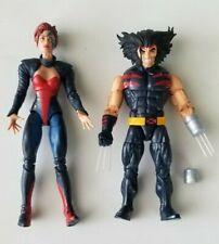 Marvel Legends Age of Apocalypse Jean Grey & Wolverine (NO Sugar Man BAF)