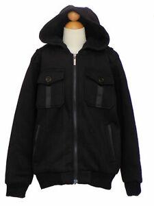 Boys Fall Winter Fleece Jacket , Black, Size: Large  ( 7 years)