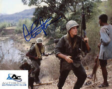 CHARLIE SHEEN AUTOGRAPH SIGNED 8x10 PHOTO PLATOON COA