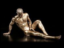 Männliche Akt Figur - Sitzend mit ausgestrecktem Bein - Veronese Mann Deko sexy