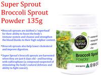 SUPER SPROUT 100% Australian  BROCCOLI SPROUT POWDER 135g