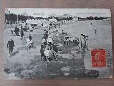 CPA Royan La Grande Conche avec timbre