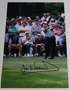 Ian Woosnam SIGNED 12x8 Photo Autograph Golf AFTAL Sport Memorabilia COA