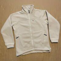 Women's Cream / Beige Berghaus Full Zip Through Soft Fleece Jacket Size 12