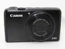 Canon PowerShot S90 10.0MP Digital Camera - Black