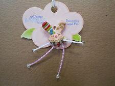 Pumpkinseeds Folk Art 4012493 Bunny Pin Decorative Lapel Pin