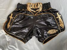 Yokkao Muay Thai Kick Boxing Shorts Dzhabar Askerov Xxl Euc / 36� Black