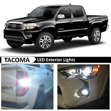 09-15 Toyota Tacoma White Exterior Fog Backup License Plate LED Lights Package