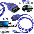OBD2 409.1 USB Cable VAG-COM OBD Diagnostic Scanner VW/Audi/Seat VCDS UK Stock