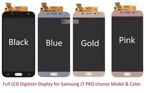 Full LCD Digitizer Glass Screen Display Replacement Part for Samsung J7 Pro 2017