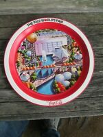Coca-Cola 1982 World's Fair Commemorative Tray Knoxville TN Set of 5