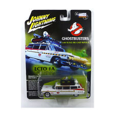 Johnny Lightning SS004 Cadillac Ecto 1A White 1959 - Ghostbusters 1:64 New !°