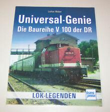 Lok Legenden - Universal-Genie - Die Baureihe V 100 der DR - Bildband!