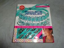 New Klutz Toolbox Jewelry Craft Kit 10 Projects & 60 Page Book For Kids