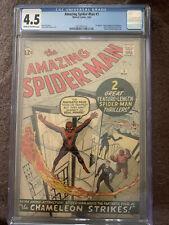 amazing spiderman 1 cgc 4.5