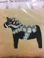 Dala Horse Counted Half Cross Stitch kit - Anette Eriksson