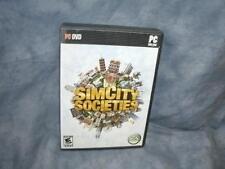 SimCity Societies (PC- DVD-rom, 2007)