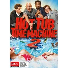 HOT TUB TIME MACHINE 2-Rob Corddry, Chevy Chase-Region  4-New AND Sealed