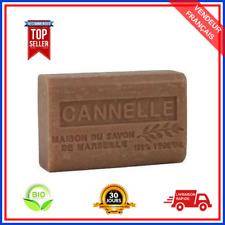 Savon De Marseille Cannelle Au Beurre De Karité Pure Bio 100% Naturel De 125 gr