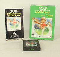 Vintage Boxed Atari 2600 game Golf  Tested & Working