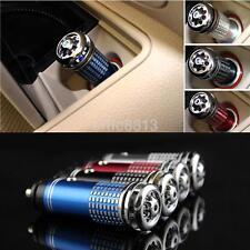 12V Mini Car Fresh Air Ionic Purifier Oxygen Bar Ozone Ionizer Deodorize AU^