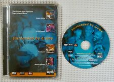 SPL Drum DVD Kenny Aronoff Dennis Chambers 5.1 Surrounded By Drums Rare 2001 EX