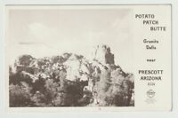 Unused Postcard Photo Potato Patch Butte Granite Dells near Prescott Arizona AZ