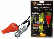 Streamlight Key-Mate Flashlight With Storm Whistle   ( With FREE Survival DVD )