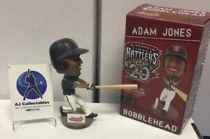 Nib Adam Jones Wisc Timber Rattlers Rare Bobblehead #1,000 Baltimore Orioles Sga