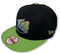 Tampa Bay Devil Rays Men's New Era 9FIFTY MLB Basic Strapback Hat Cap