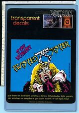 TWISTED SISTER Vintage Sticker 1984; Original Package; NOS; EX/NM; Stay Hungry