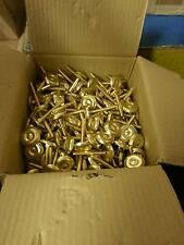 """200 Heavy Duty 3"""" Brass Leg Levelers For Video Arcade Games Free Shipping! New!"""