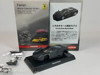 1:64 Kyosho Ferrari Minicar Collection VII 7 NEO Enzo 2002 Matt Black Karuwaza