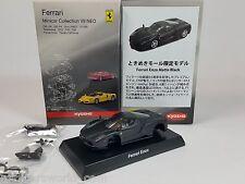 1:64 Kyosho Ferrari Minicar Collection VII 7 NEO Enzo 2002 Matt Black Karuwaza