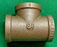 """3/4"""" Brass Tee Pipe Fitting F-F-F 3/4 NPT - Brand New"""