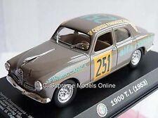 Alfa Romeo 1900 ensayos Rally Car 1953 1/43 Rd Tamaño no251 calcomanía cuestión k8967q ~ # ~