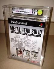 Metal Gear Solid: THE ESSENTIAL COLLECTION VGA 90+ GOLD! Sony SET PS1 PS2 MINT!