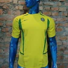 Brazil Jersey Home football shirt 2002 - 2004 nike yellow size Young XL