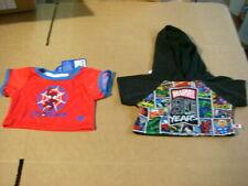 Build-A-Bear 2 pieces Marvel Hoodie 027840 , Spiderman tee 027694