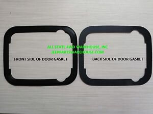 GASKET, EACH JEEP OUTER EXTERIOR FRONT DOOR HANDLE GASKET SEAL 5758174  J5758174