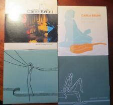 CARLA BRUNI (JULIEN CLERC)  LOT 4 x CD SINGLES