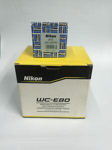 NIKON WC-E80 WIDEANGLE CONVERTER w/UR-E8 ADAPTER f/ COOLPIX 5700&8700 BUNDLE