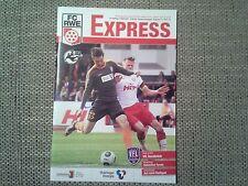 Programm FC Rot Weiss Erfurt - VfL Osnabrück 15/16